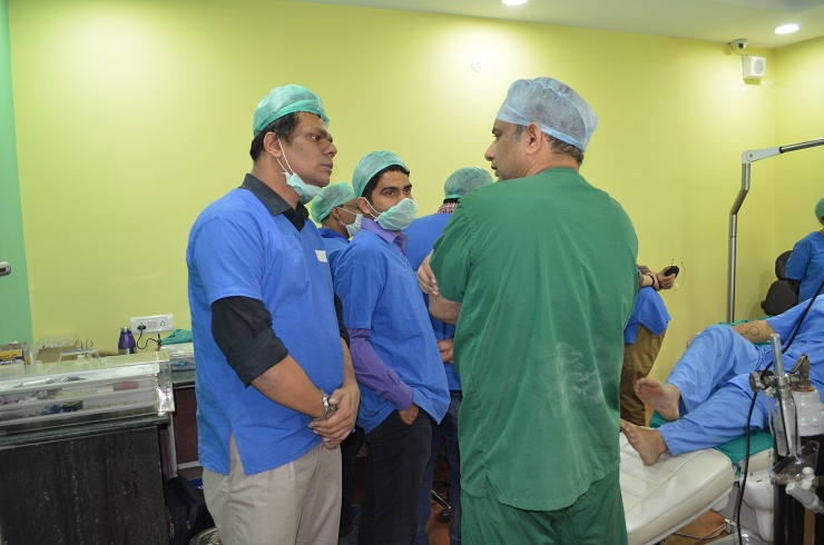 hair transplant training center in india